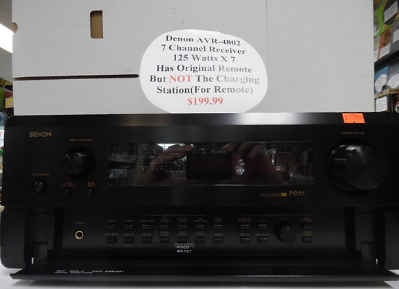 Denon AVR-4802 7 Channel Receiver