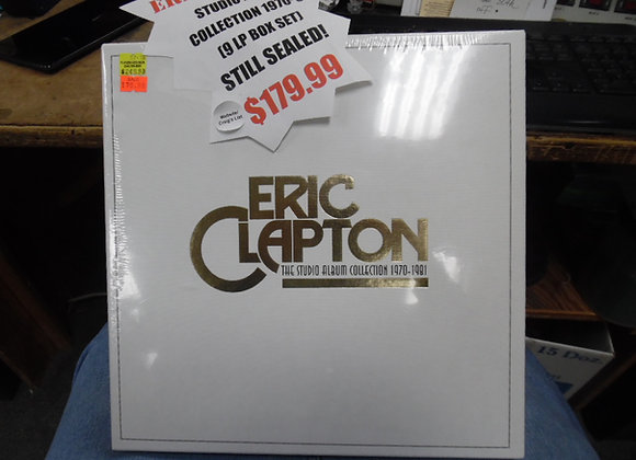 Eric Clapton The studio album collection 1970 - 1981