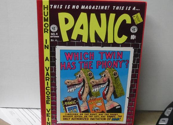 "EC COMICS ""Panic"" Russ Cochrane. Contains 2 Hardcover Books Oversized Slipcase"