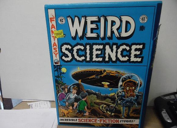 "EC COMICS ""Weird Science"" RUSS COCHRANE. Contains 4 Hardcover Books"