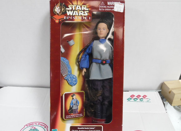new in box.  star wars episode one queen amedala figure. Hasbro.