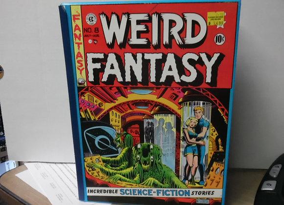 """EC COMICS """"Weird Fantasy"""" RUSS COCHRANE Contains 4 Hardcover Books"""