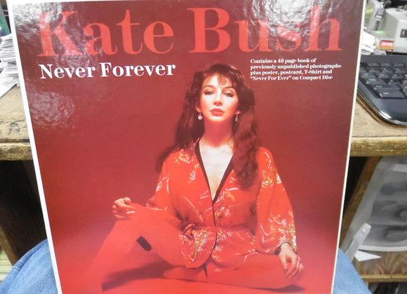 """KATE BUSH """"NEVER FOREVER"""" CD BOX SET"""