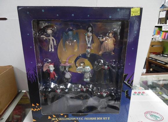 NIGHTMARE BEFORE CHRISTMAS P.V.C. Figurine Set