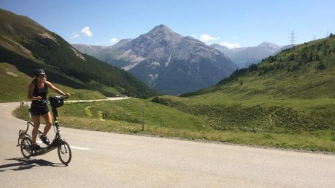Deze zomer de Albula pas in Zwitserland op met de Elliptigo!