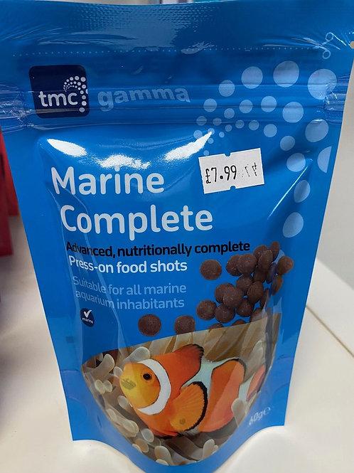 Gamma marine complete press-on food shots 60g