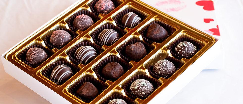 16 Piece Large Chocolate Truffle Box