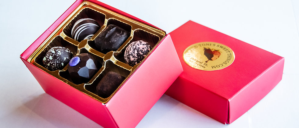 12 Piece Chocolate Truffle Box