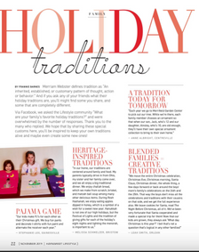 Holiday Traditions