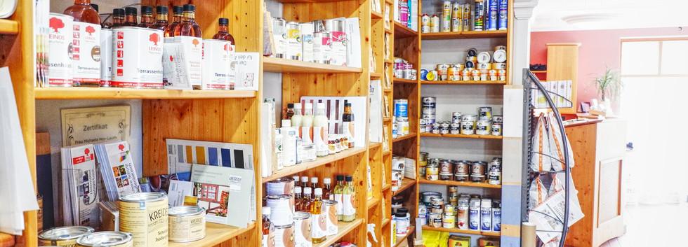 Große Auswahl an natürlichen Baustoffen