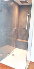 Dusche mit Tadelakt