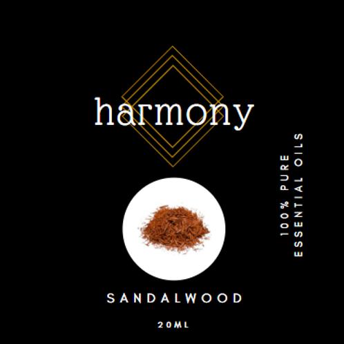 Harmony Essential Oils - Sandalwood 20ml