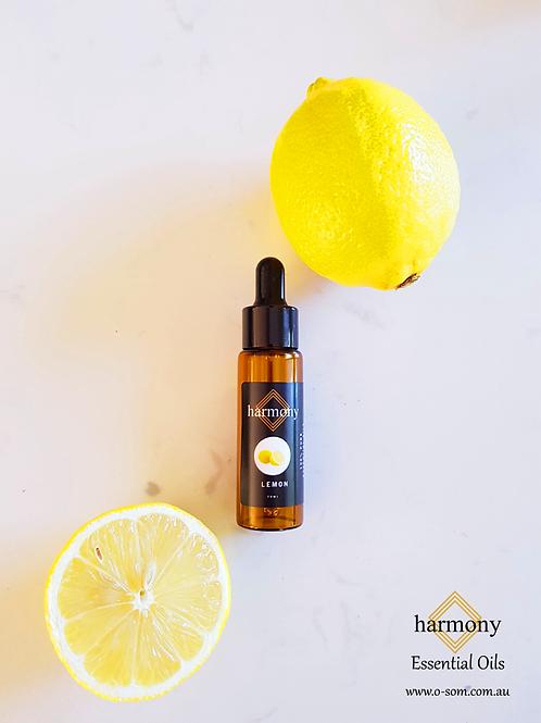 Harmony Essential Oils - Lemon 20ml
