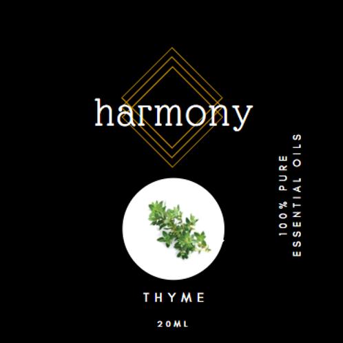 Harmony Essential Oils - Thyme 20ml