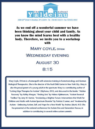 workshop by Mary Coyle, DIHom