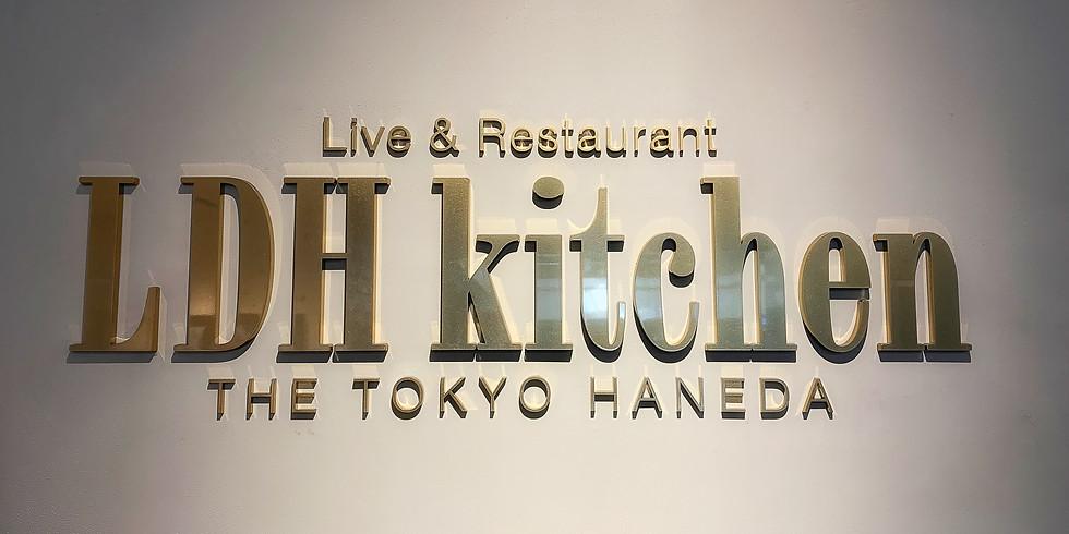 LDH Kitchen THE TOKYO HANRDA でライブ配信のスチール撮影
