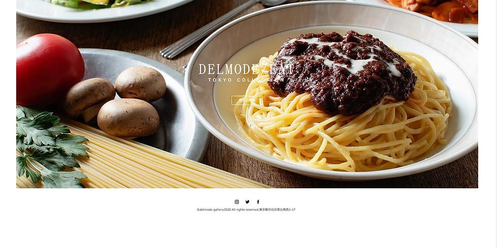 東京 飲食店応援サイト DELMODE/EAT 公開
