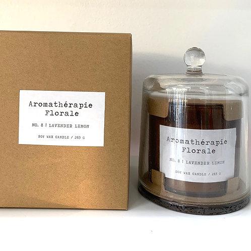 Le Desire 283 gm Aromatherapy Florale Candle - Lavender Lemon