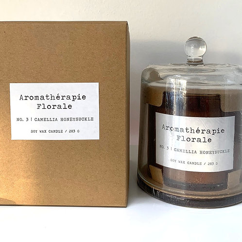Le Desire 283 gm Aromatherapy Florale Candle - Camellia Honeysuckle