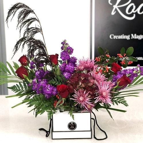 Boxed flower arrangements 16