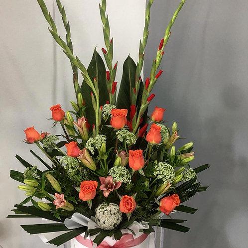 Boxed flower arrangements 04