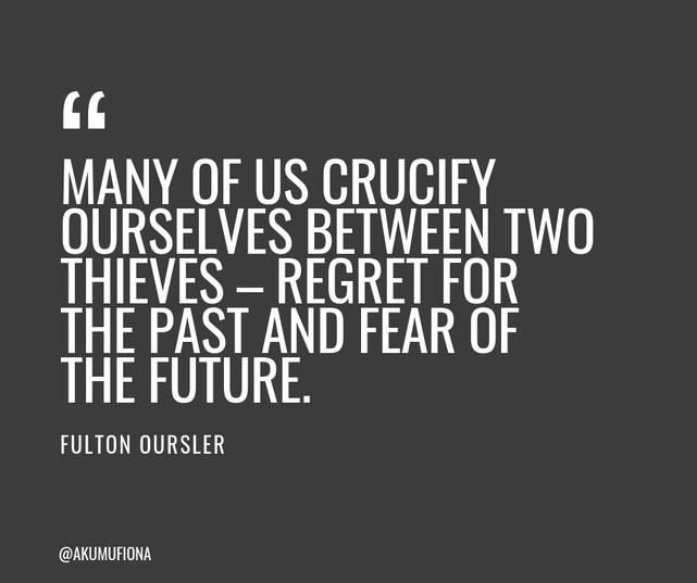 Akumu FIona- Quotes - Crucify ourselves