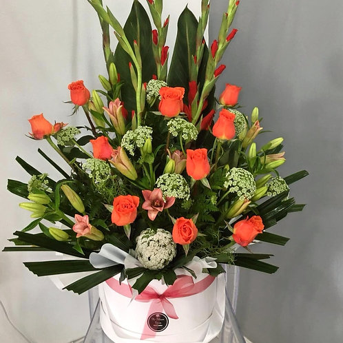 Boxed flower arrangements 14