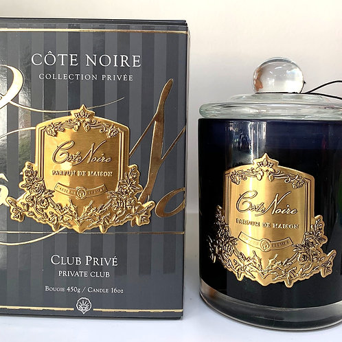 Cote Noire 450gm Candle - Private Club