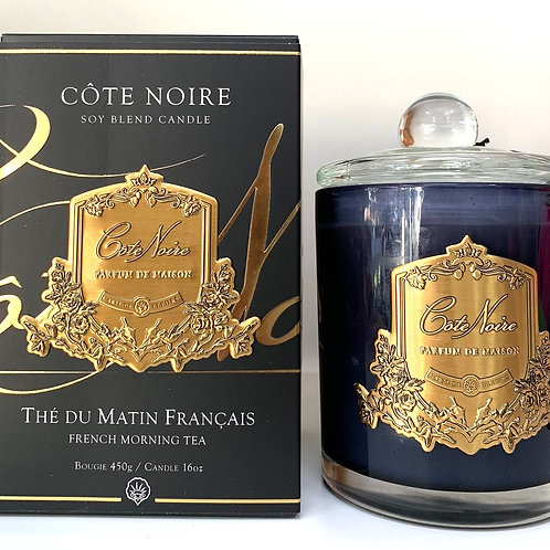 Cote Noire 450gm Candle - French Morning Tea