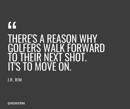 Akumu Fiona - Quotes - Golfers Next Shot