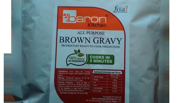 Brown Gravy - Saoji (Frozen)