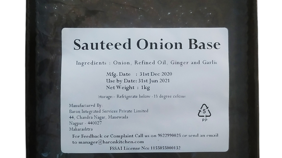 Satueed Onion Base (Frozen)