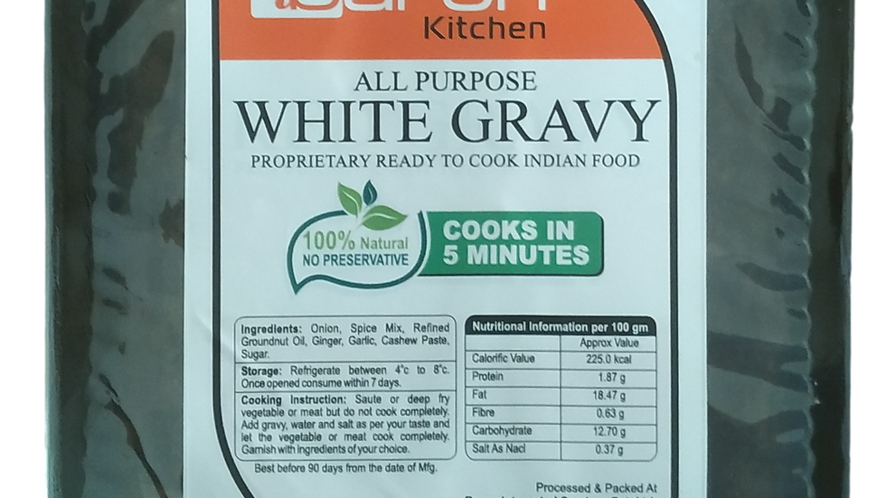 Base White Gravy (Frozen)