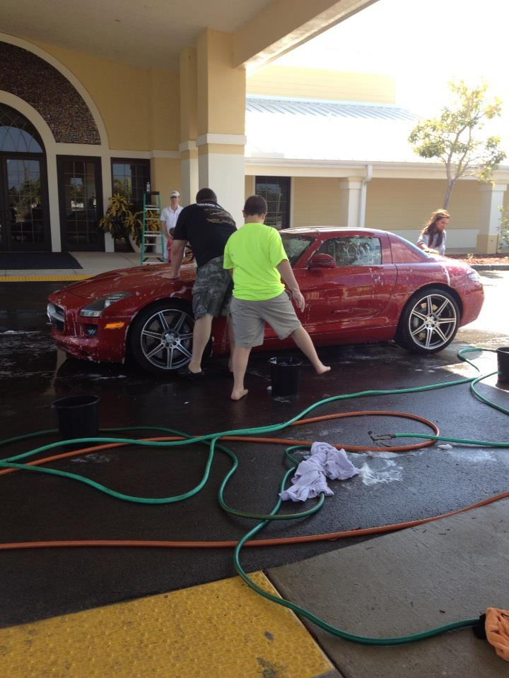 Youth Group Car Wash
