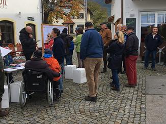 Ortsentwicklungskonzept Ohlstadt: Infostand und Dorfspaziergang