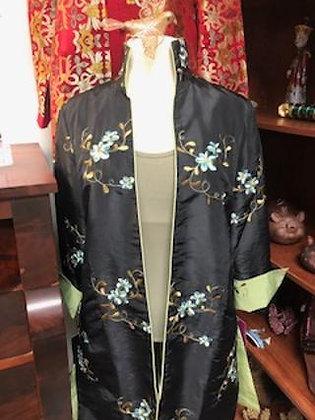 Black Coat Handmade Green Sage