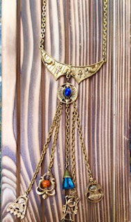 Egyptian Revival 'Art' Necklace,