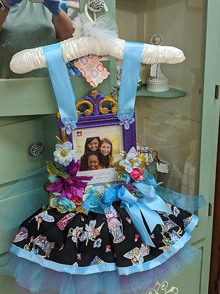 Handcrafted Purple & Teal Fairy Tutu Frame WTT-31-18