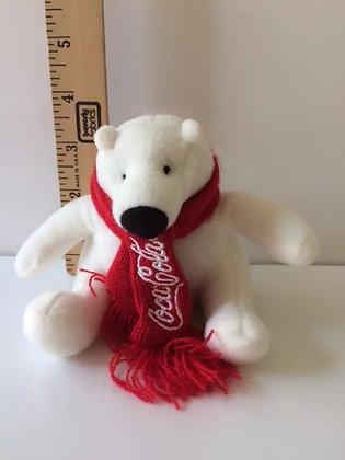 "Coco Cola Bear 4"" mini bear"