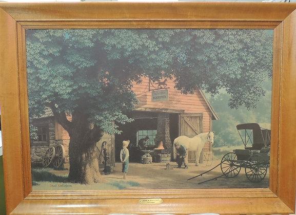 Paul Detlefsen, Horse & Buggy Days (Large)