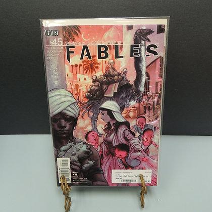 """Vertigo Adult Comic, """"Fables"""" No. 45 Mar 06"""