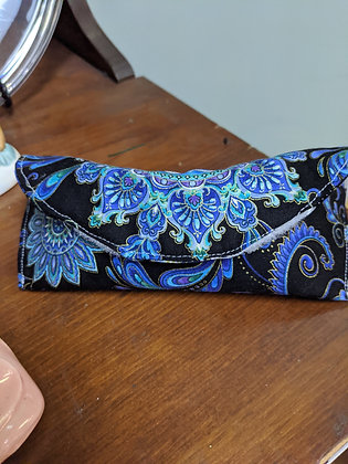 Handcrafted Blue Medallion Sunglasses Case WTT-64-2020