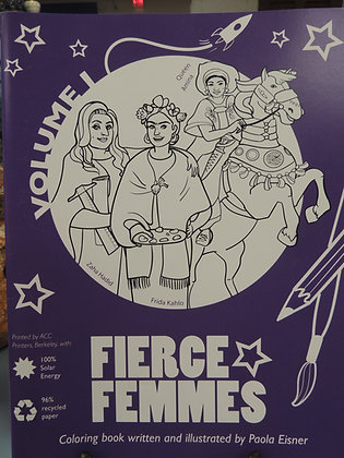 Book - Fierce Femmes by P. Eisner