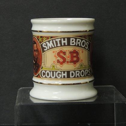 Franklin Porcelain- Smith Brothers Cough Drops Mug
