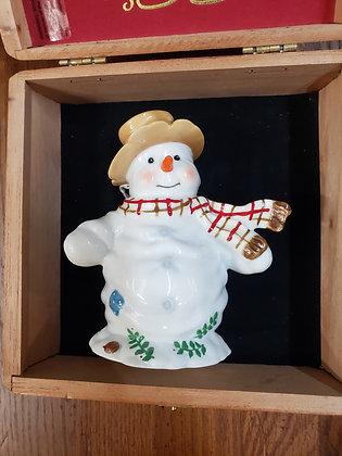 1997 Enesco Snowman