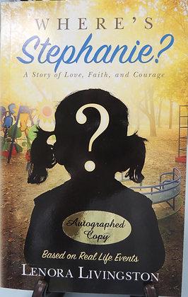 Book - Where's Stephanie (Softback) by Lenora Livingston