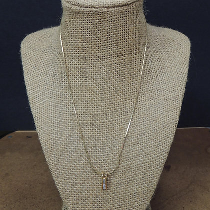 """17"""" Gold Tone Necklace w/ Pendent"""