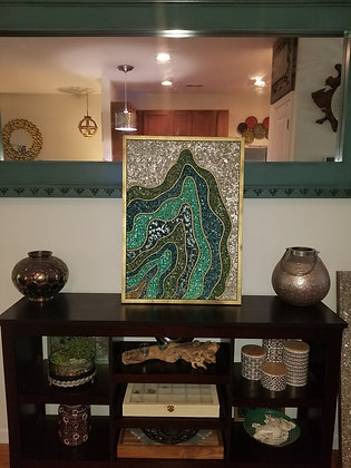 Original Flow Art Painting