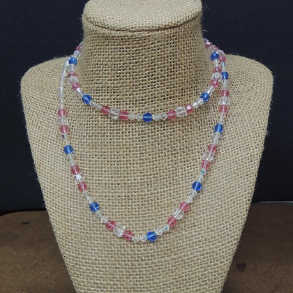 """30"""" Multi Color Beaded Necklace"""