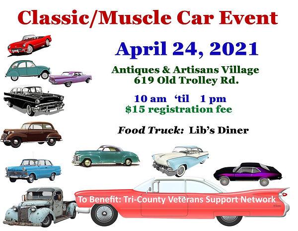 Classic Car Show classic muscle car Apri